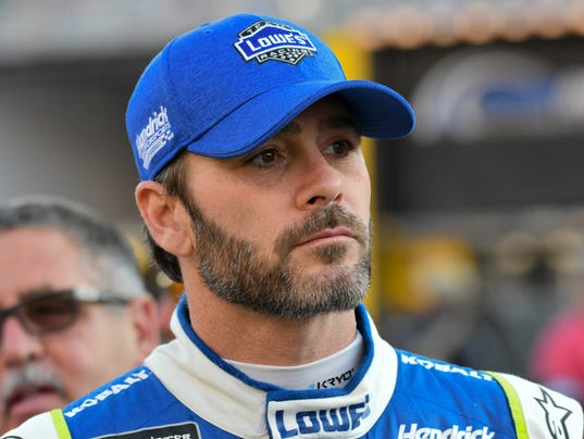 Jimmie Johnson Ready To Hit Gas For Record Eighth Nascar