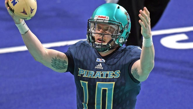The Massachusetts Pirates and the National Arena League will not be playing at the DCU Center this season.