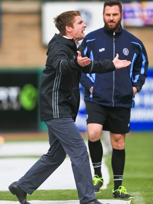 Louisville City FC head coach James O'Connor wasn't happy with the officiating during the team's loss to the New York City Red Bull II in Saturday's match.