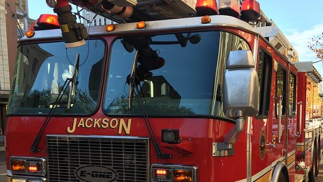 Jackson Fire Dept. truck