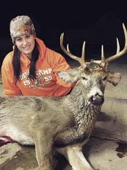 Kris Van Pay, of Casco, got a nine-point, 160-pound
