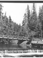 These historic photos show what the resort and bathhouses at Lower Breitenbush Hot Springs looked like between 1923 and 1970.