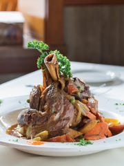 The lamb shanks, with plenty of gravy, are a weekly