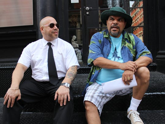 Edgar Garcia (left) and Luis Guzman star in the comedy