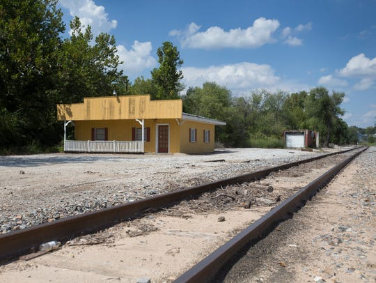 This yellow building is owned by Concrete Co of Springfield;