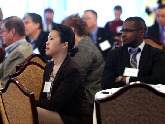 The inaugural NJ State-of-the-State Manufacturing event attended by New Jersey's leading manufacturing business executives and elected state officials at the  Park Avenue Club in Florham Park.  March 31, 2017,  Florham Park, NJ