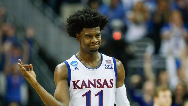The Suns' Josh Jackson went to Kansas.