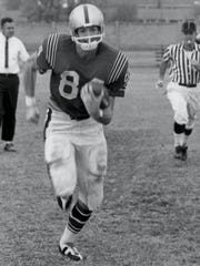 Harold Roberts is considered one of the most prolific pass receivers in NCAA football history with 232 catches for 2,999 yards and 31 touchdowns in his career.