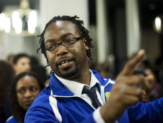 Kalimah Priforce, CEO of Qeyno Labs, puts on hackathons