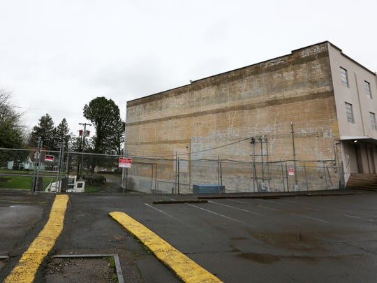 Property to the west of the intersection of Liberty and Broadway Street NE is among four possible locations being considered for a new Salem police facility. Photographed Tuesday, Dec. 22, 2015, in Salem, Ore.