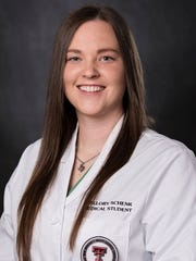 Mallory Schenk of Scotland received a medical school