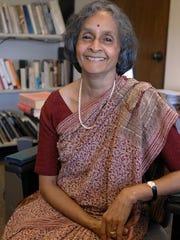 Seetha Srinivasan, former director of University Press