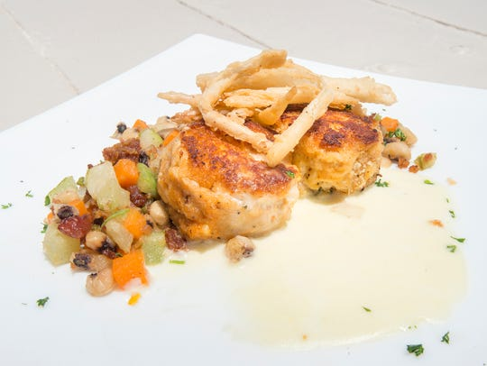 Blue crab cakes are among the appetizers Fish House will serve during Summer Restaurant Week.