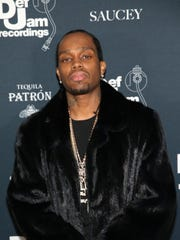Detroit rapper Payroll Giovanni attends the Def Jam Holiday Party on Dec. 14, 2017, in New York City.
