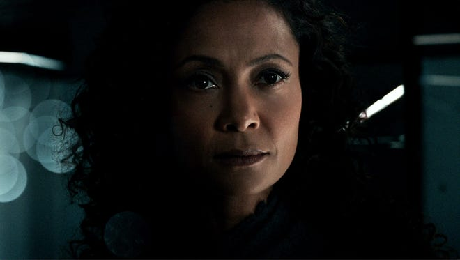 After discovering her daughter is alive in another theme park, android Maeve (Thandie Newton) mulls journeying beyond 'Westworld' to find her.