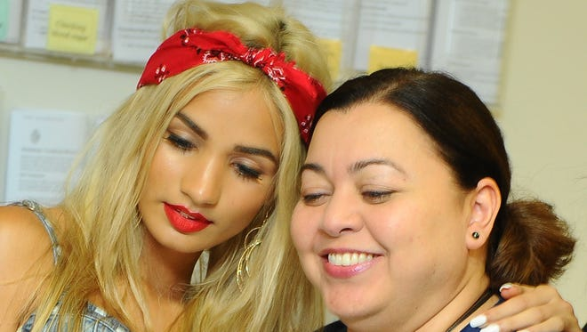 Guam-born singer-songwriter, actress and model Pia Mia visited with patients, guests and staff members at the Guam Memorial Hospital in Tamuning on June 9, 2014. Mia, who currently resides in Los Angeles, California, was on island to perform during the Guam Live International Music Festival in 2014. She will perform again in this year's Guam Live fest, set for May 29.