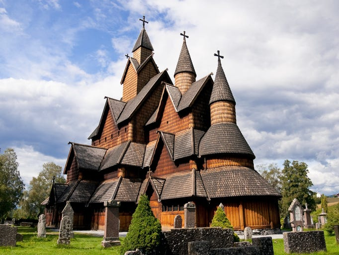 Of Norway's 28 remaining stave churches,