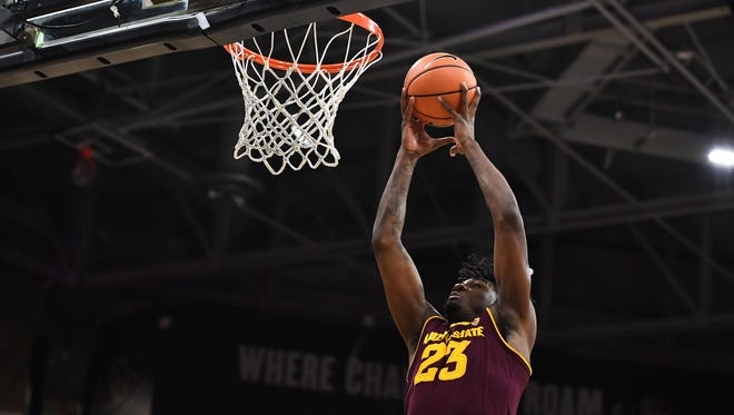 """We got to take advantage of trying to make him better,"""" coach Bobby Hurley said of Romello White."""