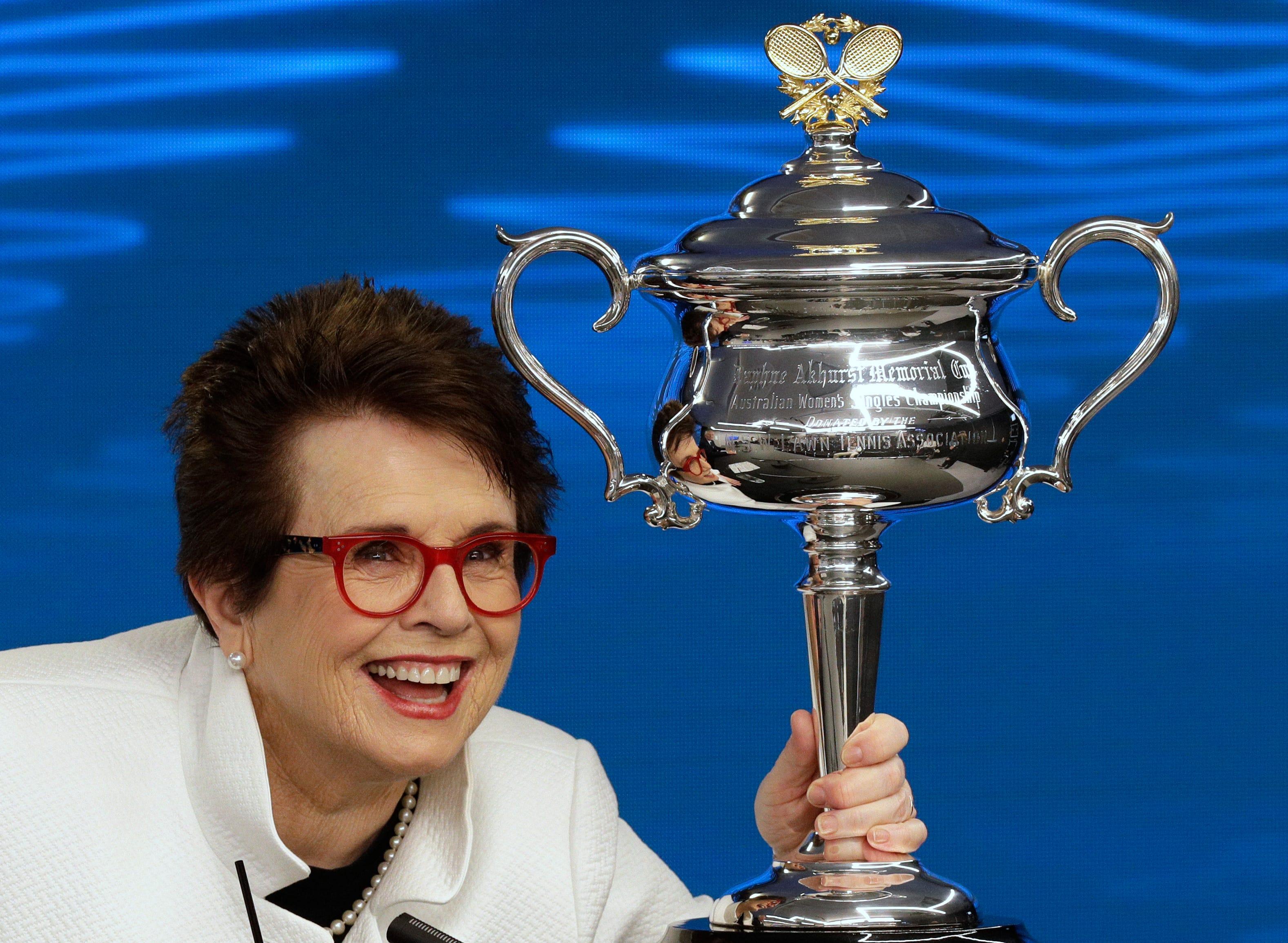 Billie Jean King 12 Grand Slam singles titles Billie Jean King 12 Grand Slam singles titles new picture