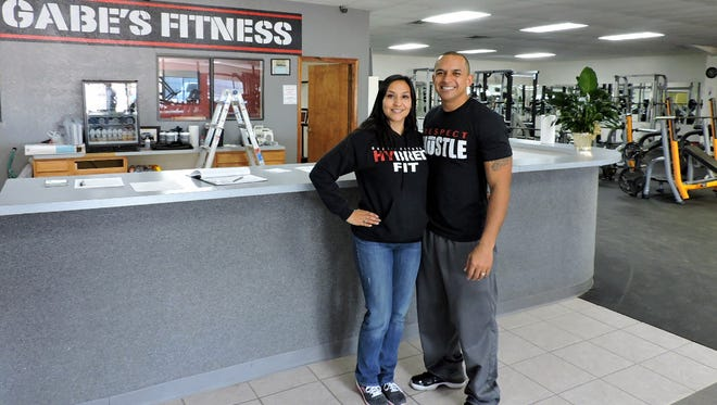 Gabe and Lorraine Dominguez, owners of Gabe's Fitness, have just moved in to a a new location at 705 E. Pine St. The new gym offers more space for workouts and rooms for dance and fitness training. The gym was formerly located at 1400 S. Ruby St.