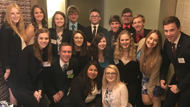 Seventeen Marian University traveled to the Northwest Model United Nations Conference in Seattle, Washington, as part of the university's Model United Nations Team.