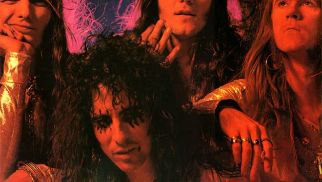 """Alice Cooper group as seen on cover of the """"Killer"""" album."""