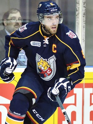 Barrie Colts defenseman Aaron Ekblad has a chance to go No. 1 overall in this month's draft.
