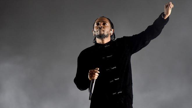 Album of the year: Kendrick Lamar, 'Damn'