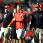 Rutgers football players Knighted by Chris Ash