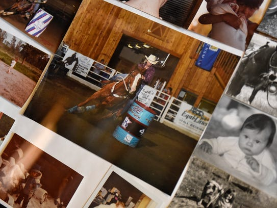 Photos outline the early life of Lacey Kuschel at the