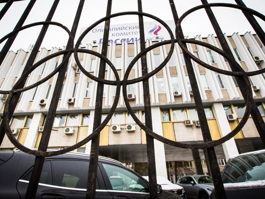 AP RUSSIAN DOPING S OLY FILE RUS