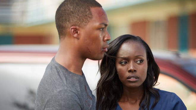Corey Hawkins, left, and Anna Diop play husband and wife in Fox's '24: Legacy.'