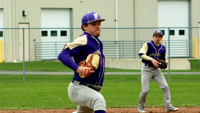 Fowlerville senior left-hander is the ace of the Gladiators' tremendous pitching staff in 2017.