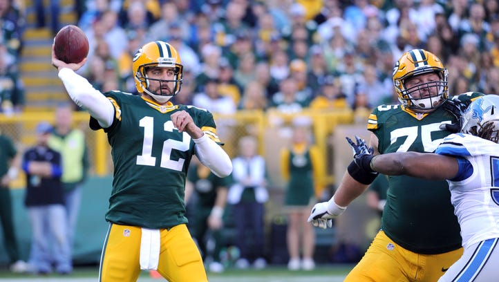 The Packers tied the franchise single-game record of