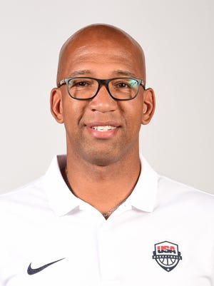 Monty Williams of the USA Basketball Men's National Team poses for a headshot at the Wynn Las Vegas on July 17, 2016 in Las Vegas, Nevada.