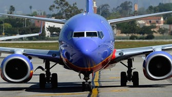 This file photo from April 5, 2011, shows a Southwest Airlines Boeing 737 in Los Angeles.