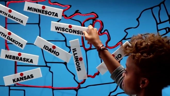 East and West coasters can't name Midwestern states.