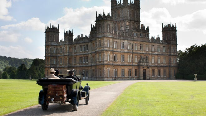 "Here's Highclere Castle, the real-life setting of ""Downton Abbey."" The Taft Museum actually has an object that once appeared there."