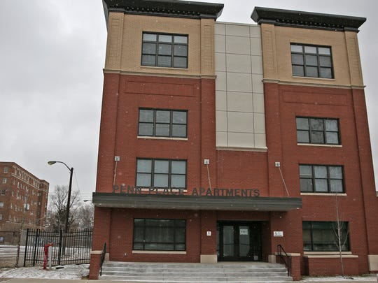 Penn Place Apartments are at 1415 N. Pennsylvania St. The former motel on the Old Northside has been renovated into a multi-unit one-bedroom apartment building for the homeless, a health center and social service office.