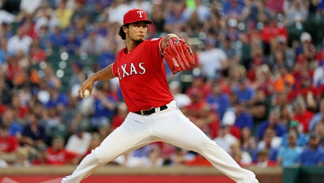 Yu Darvish could return to the rotation shortly after the All-Star break.