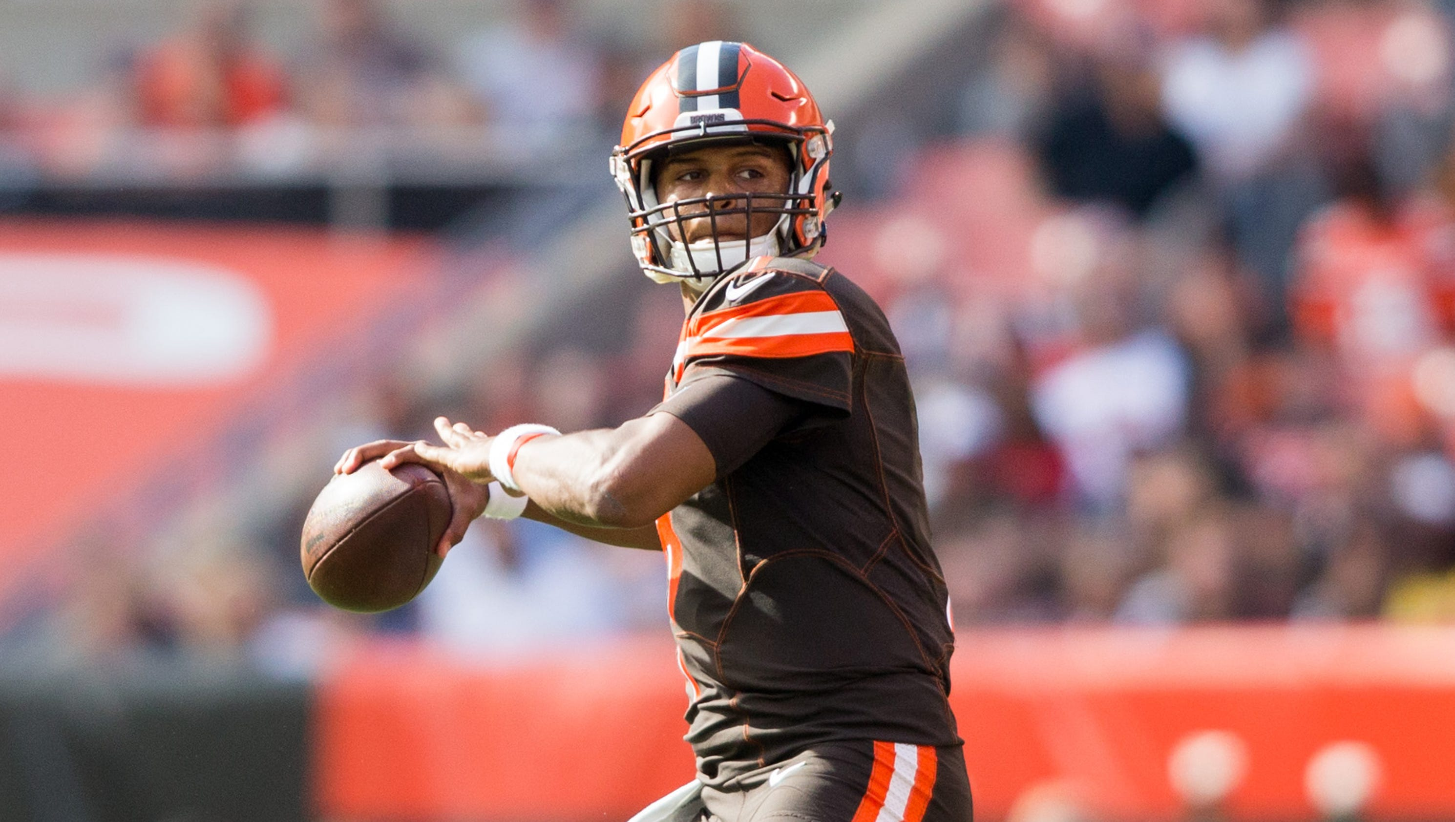 Browns Bench Qb Deshone Kizer Again In Latest Change