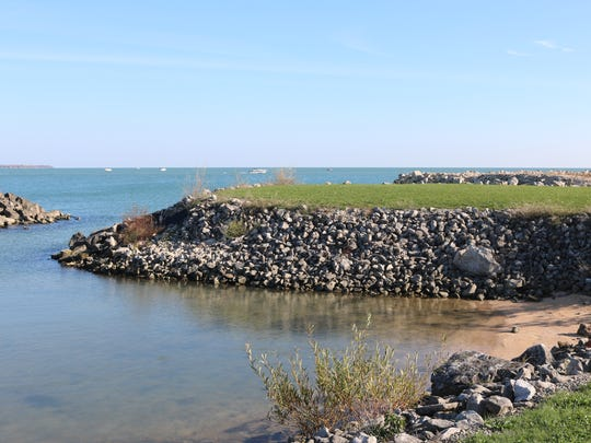 Lucien M. Clemons Park will permanently preserve the two acres of open green space and nearly three acres of submerged coast where Lake Erie meets the shore creating a small inlet cove at the Lifeboat Station property.