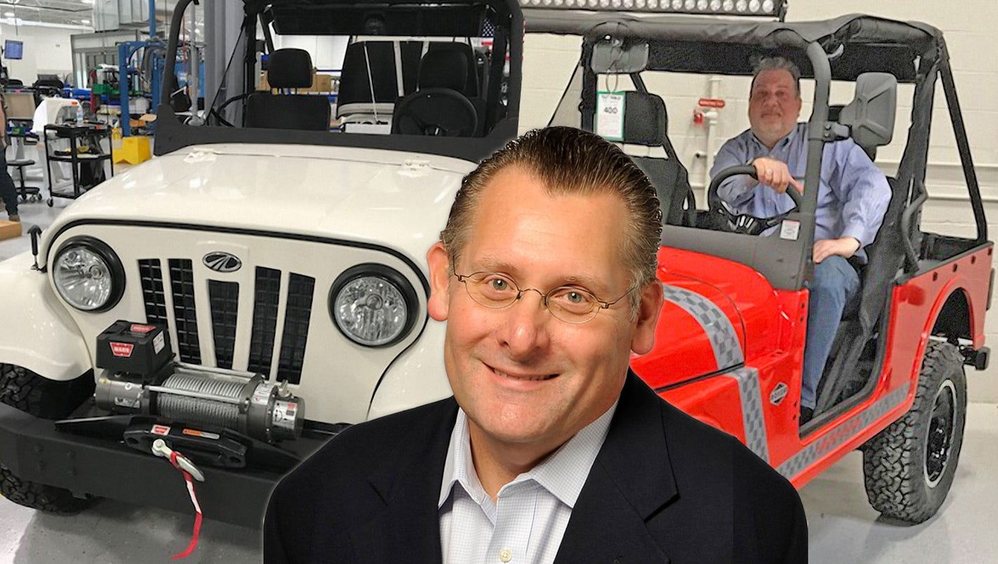 Podcast: Howes on new Detroit automaker Mahindra
