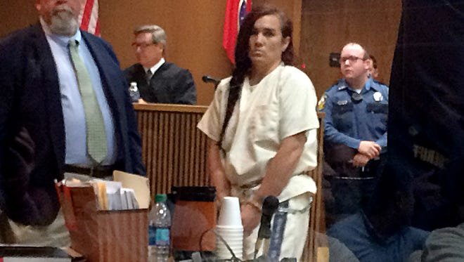 Erika Castro-Miles appears in court Monday, Aug. 6.