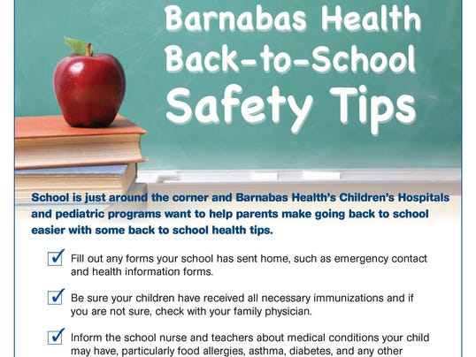 BH Back to School Safety Tips0813