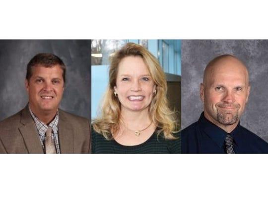 Brad Kelvington, Julie Beddow-Schubert and James Wagner,