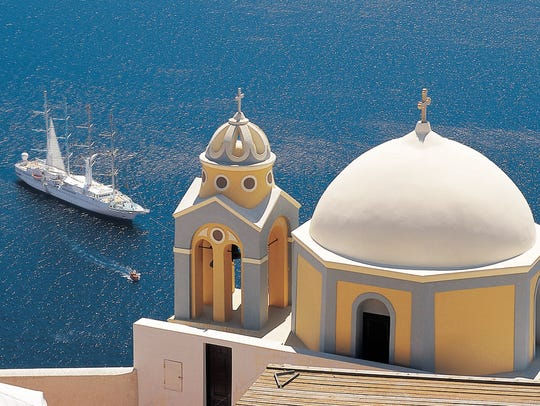 Windstar's luxury yachts have fewer than 310 guests