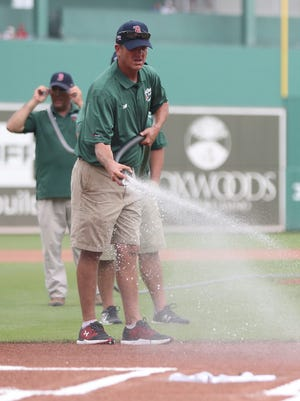 Scenes from the Boston Red Sox and Minnesota Twins spring training game on Friday at JetBlue Park in south Fort Myers. The Red Sox beat the Twins 4-3.