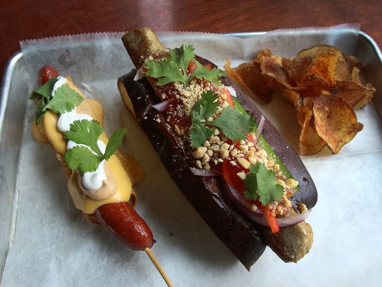 'One Bite In Bangkok' on the left and 'El Borracho New Mexico' on the right from Destination Dogs.