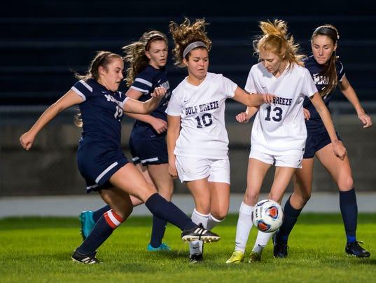 GB vs. Arnold Girls Soccer